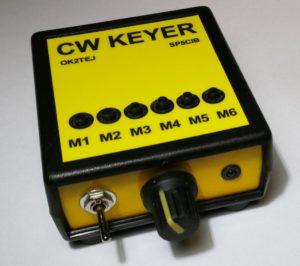 Klucz CW OK2TEJ w wykonaniu SP5CIB