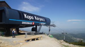 The upper station of the new Kopa cableway in Karpacz