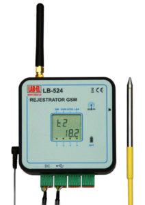 Rejestrator 4 temperatur LB-524T4 GSM