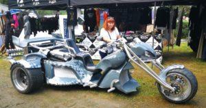Harley-Davidson w Karkonoszach