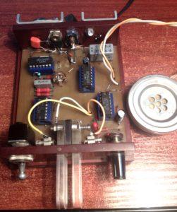 SP5DDF automatic telegraph key in
