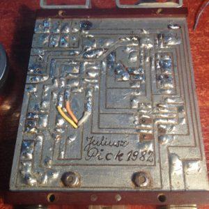 Klucz CW SP5DDF plytka drukowana