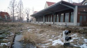 Odbudowa linii kolejowej do Karpacza - Karpacz, stacja, torowisko