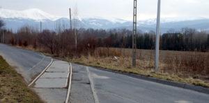 Odbudowa linii kolejowej do Karpacza - Mysłakowice, przejazd