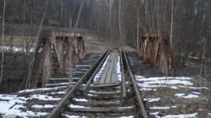 Odbudowa linii kolejowej do Karpacza - Karpacz, most nad rzeką Łomnica